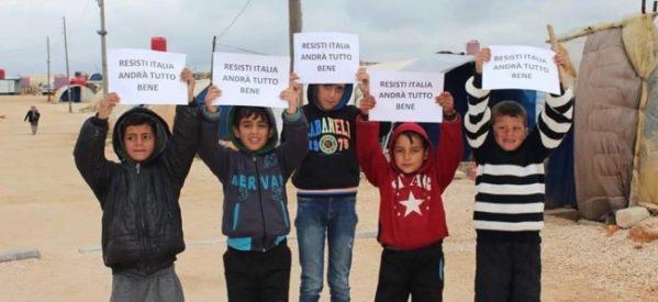 Mezzaluna Rossa Kurdistan Italia Onlus: Un messaggio solidale direttamente dai campi profughi di Shebba
