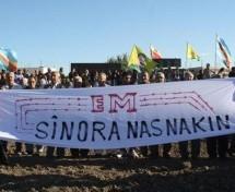 Proteste  contro il muro tra Nisêbîn e Qamişlo