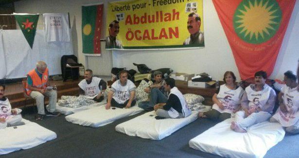 Sostegno internazionale allo sciopero della fame a Strasburgo