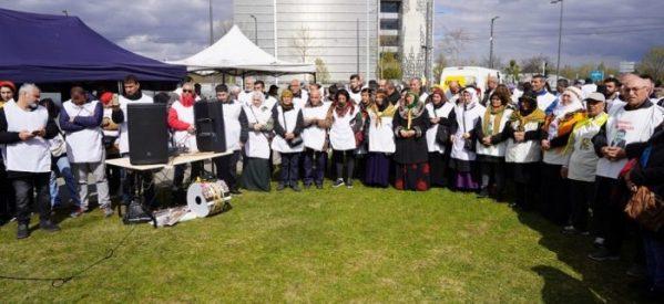 Sciopero della fame di massa davanti Parlamento Europeo
