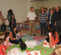 Rifugiati provenienti da Sinjar ospitati al Sümerpark ad Amed
