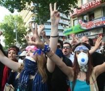 Solidarietà dal Kurdistan con la resistenza di piazza Taksim