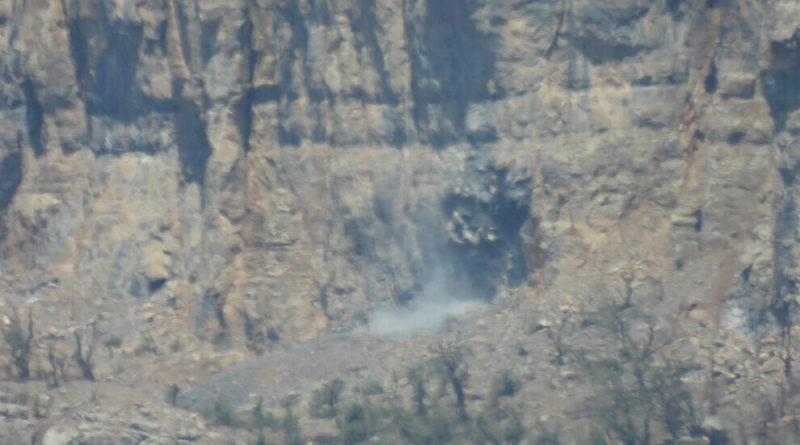 Filmato mostra l'utilizzo di gas chimico ad Avaşîn da parte dell'esercito turco