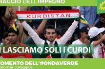 Verdi Italiani: Erdogan, giù le mani dai curdi