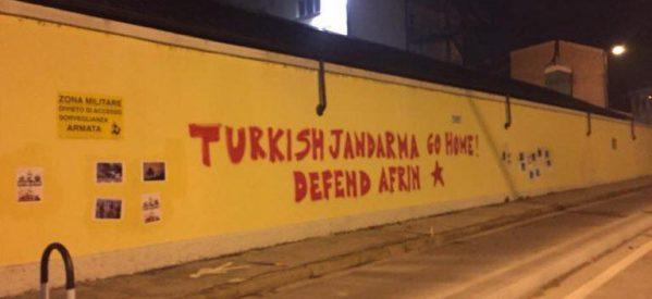 Gendarmeria turca a Vicenza, per fare che?
