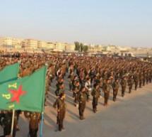 Bologna, Presidio contro l'invasione turca del Rojava