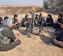 YPJ- Un giorno in Siria tra le donne kurde combattante