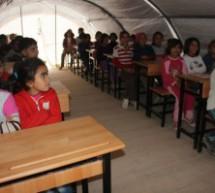 I bambini di Kobanê a Urfa vogliono l'istruzione in madrelingua