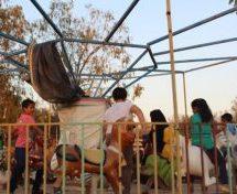 Il primo parco di divertimenti presso al-Tabqa è stato riaperto