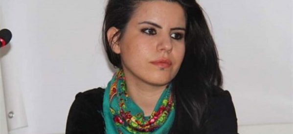 Bansky per una pittrice e giornalista curda in galera