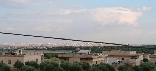 Un residente di Afrin scappa a Shehba a causa delle atrocità degli invasori